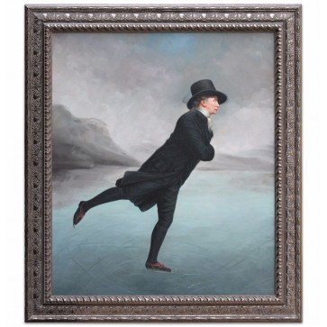 The Skating Minister oil painting