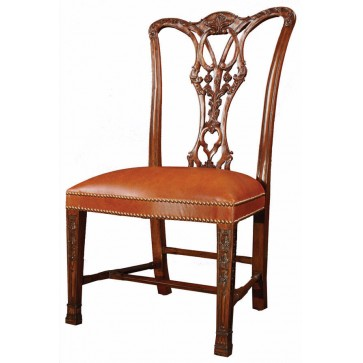 Thomas Chippendale style dining chairs