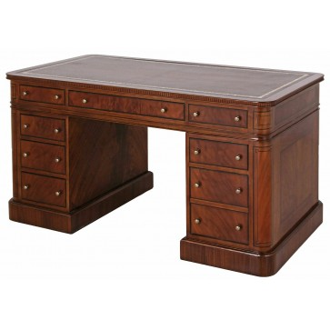 Thomas Hope style pedestal desk