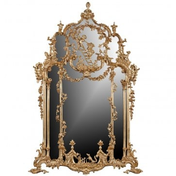 Thomas Johnson style mirror - Antique finish