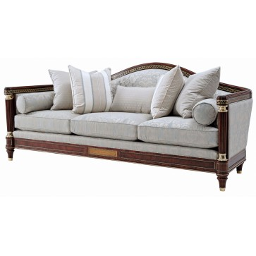 Turner large sofa in cotton jacquard