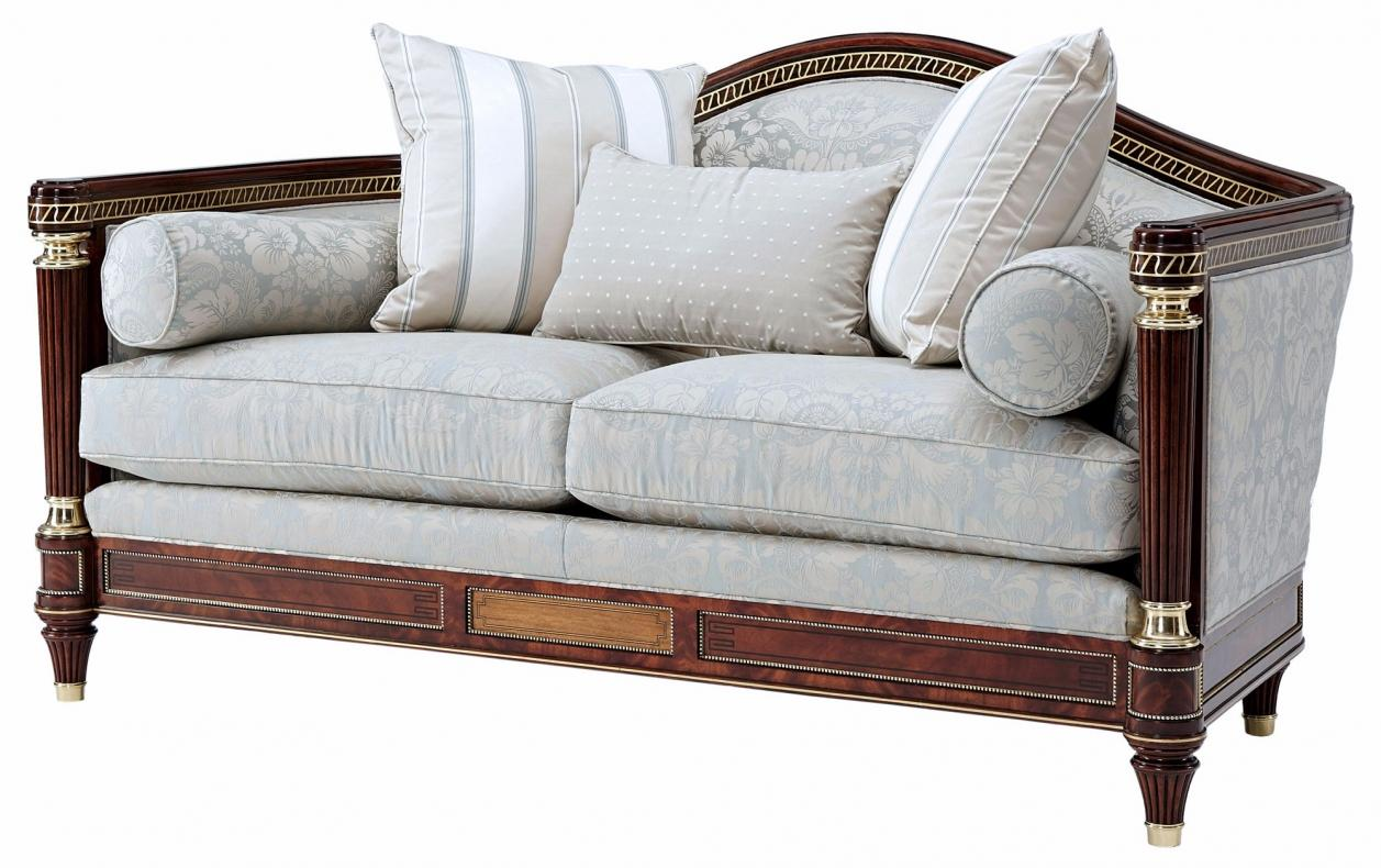 Turner small sofa in cotton jacquard