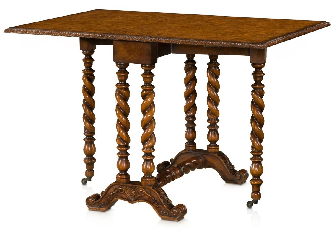 Victorian style chair - Victorian Style Furniture Pembroke Table