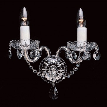 Wall Light with crystal detail