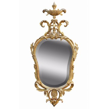 Water gilded period mirror